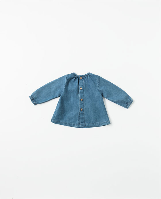 Baby Denim Dress Zara2