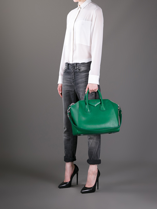 12-Medium-Green-Givenchy Antigona