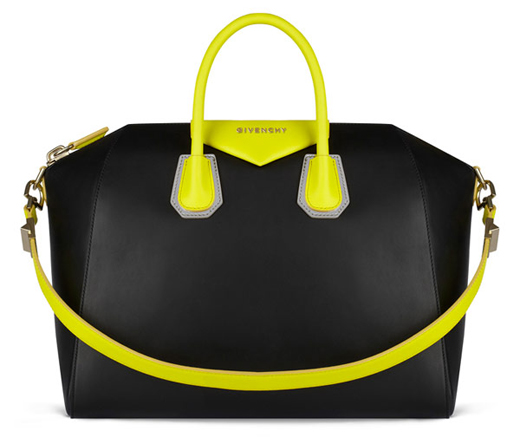 21-Small-Black-hot Yellow-Givenchy Antigona