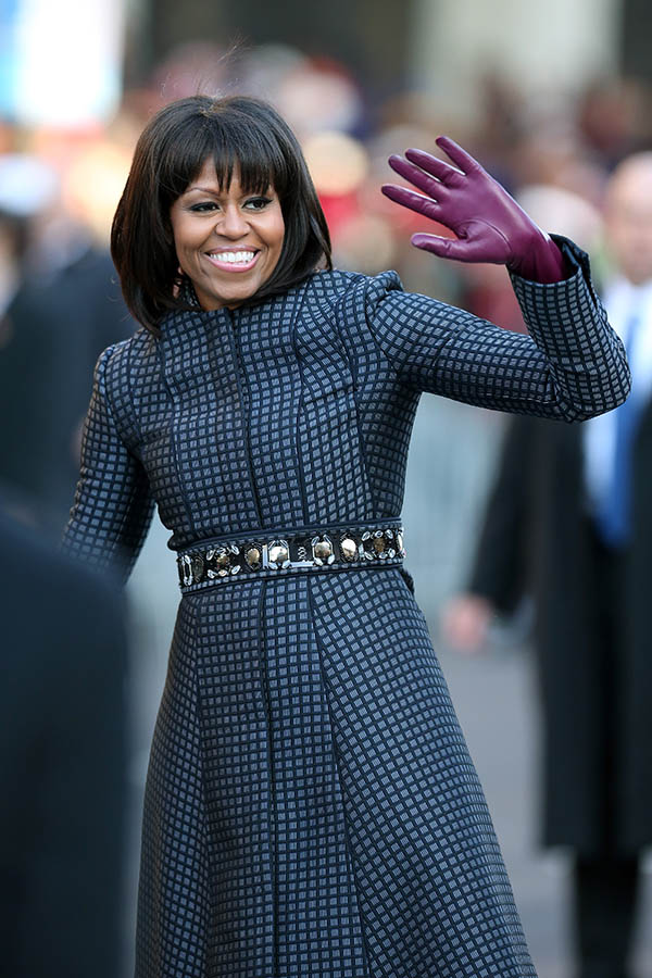 michelle obama in Thom Brown
