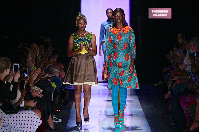 Thembeka Vilakazi South African Fashion Week