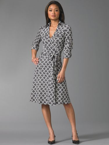 Dvf Wrap Dress Pattern Diane Von Furstenberg and the