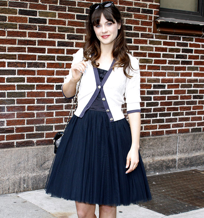 The Perfect Style of Winter of Zooey Deschanel