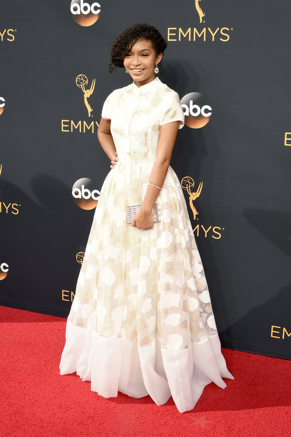 LOS ANGELES, CA - SEPTEMBER 18: Actress Yara Shahidi attends the 68th Annual Primetime Emmy Awards at Microsoft Theater on September 18, 2016 in Los Angeles, California. (Photo by David Crotty/Patrick McMullan via Getty Images)